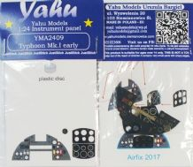 Yahu Models YMA2409 1/24 PE Hawker Typhoon Mk.Ib early Instrument panel Airfix